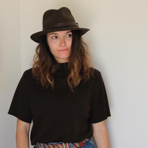 Vintage Pendleton Wool Fedora Hat. M 5a9db29b3b1608db09270a93 cd83bc16f41